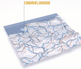 3d view of Chaîne Longue