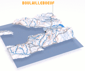 3d view of Boulaille Bœuf