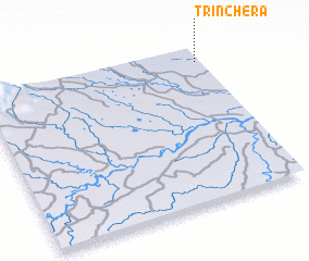 3d view of Trinchera