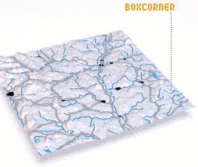 3d view of Box Corner