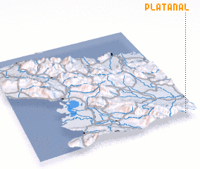 3d view of Platanal
