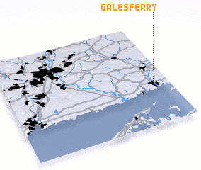 3d view of Gales Ferry