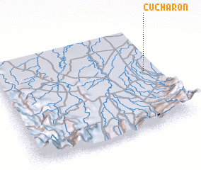 3d view of Cucharón