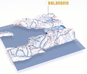 3d view of Balandrie