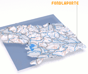 3d view of Fond Laporte