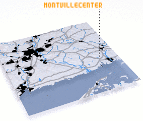 3d view of Montville Center