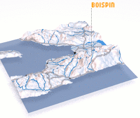 3d view of Bois Pin