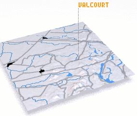 Valcourt Canada Map Nona Net
