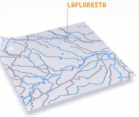 3d view of La Floresta