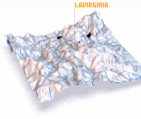 3d view of La Virginia