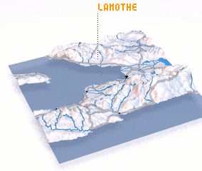 3d view of Lamothe
