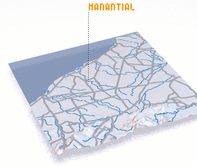 3d view of Manantial