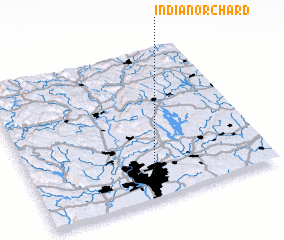 3d view of Indian Orchard