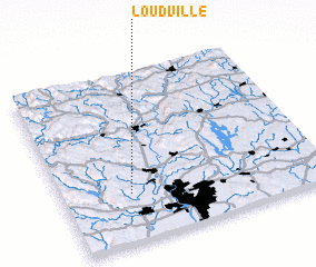 3d view of Loudville