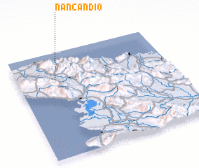 3d view of Nan Candio