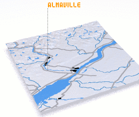 3d view of Almaville