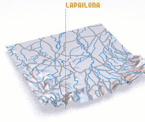 3d view of La Pailona