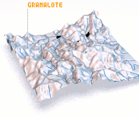3d view of Gramalote