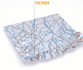 3d view of Táchira