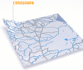 3d view of Conoguapa