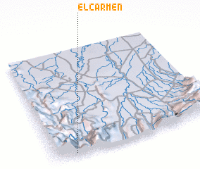 3d view of El Carmen
