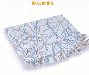 3d view of Balsamina
