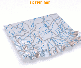 3d view of La Trinidad