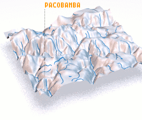3d view of Pacobamba