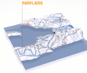 3d view of Nan Plaine