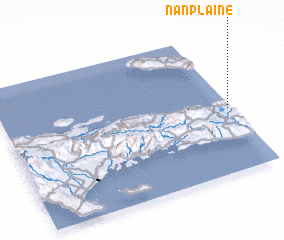 3d view of Nan Plaine