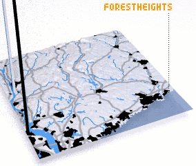 3d view of Forest Heights
