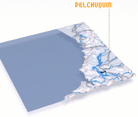 3d view of Pelchuquin