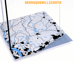 3d view of Oronoque Hills South