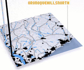 3d view of Oronoque Hills North