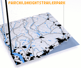 3d view of Fairchild Heights Trailer Park