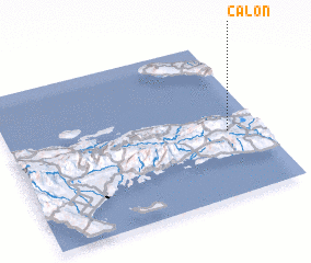3d view of Calon
