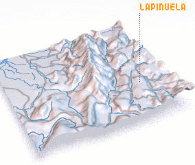 3d view of La Piñuela