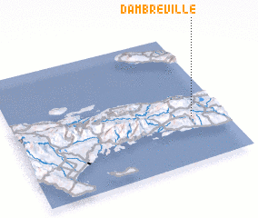 3d view of Dambreville
