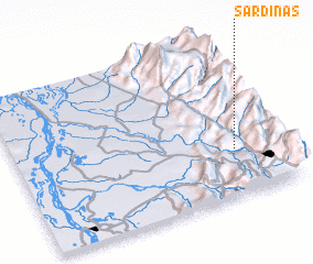 3d view of Sardinas