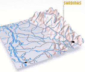 3d view of Sardinas