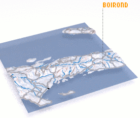 3d view of Boirond