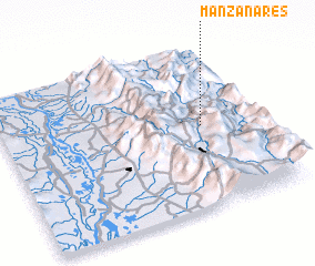 3d view of Manzanares