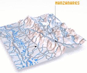 3d view of Manzanares
