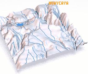 3d view of Huaycaya