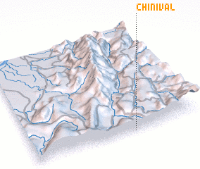 3d view of Chinival