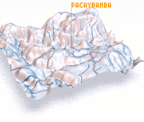 3d view of Pacaybamba
