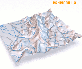 3d view of Pampionilla