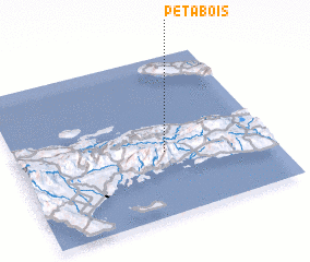 3d view of Pétabois
