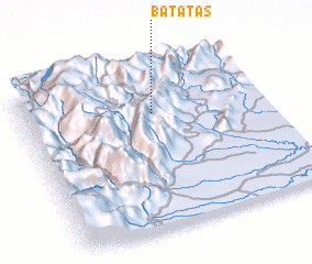 3d view of Batatas