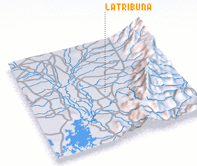3d view of La Tribuna